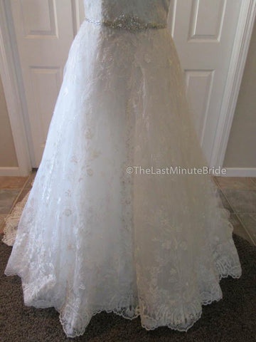 37.0 Waist Wedding Dress