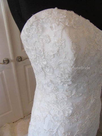 No Waist/Princess Seams Wedding Dress