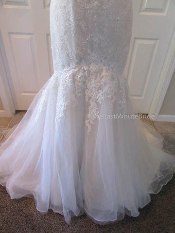 37.0 Hips Wedding Dress