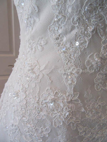 26.5 Waist Wedding Dress