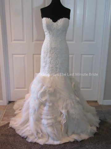 100% Authentic Maggie Sottero Paulina wedding dress from The Last Minute Bride
