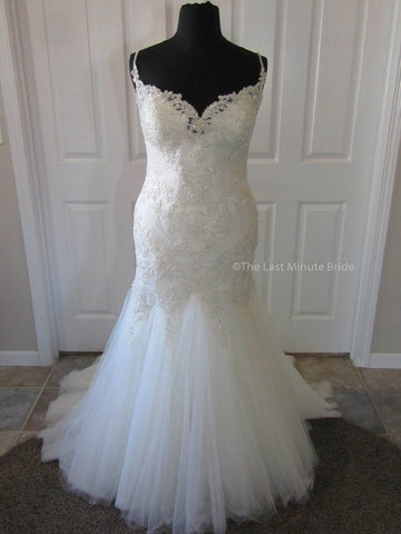 100% Authentic Maggie Sottero Roslyn 7MD987 Wedding Dress