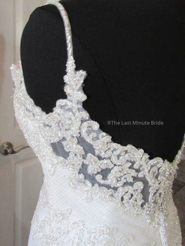 35.0 Waist Wedding Dress