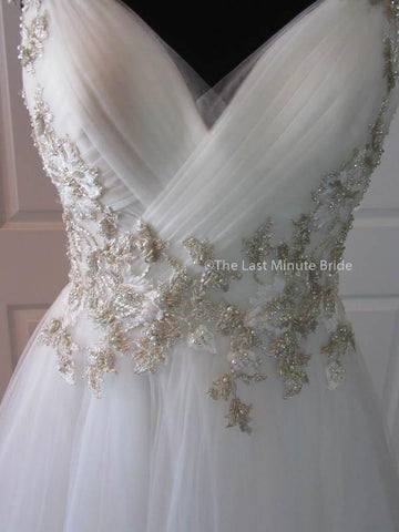 39.0 Bust Wedding Dress