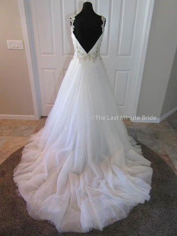 Color Pewter Wedding Dress