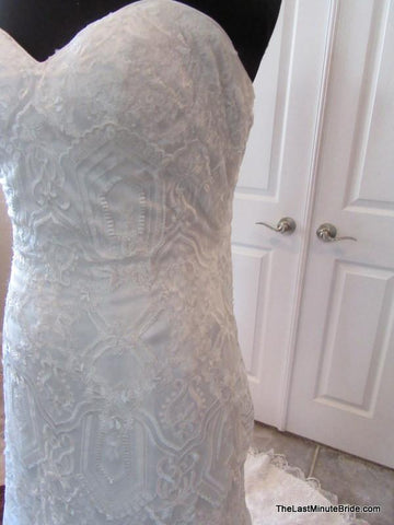 Strapless Wedding Dress