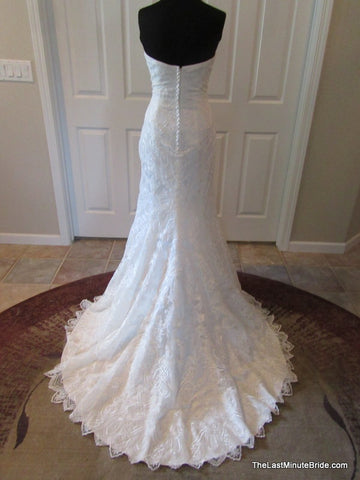 Floor Length Wedding Dress