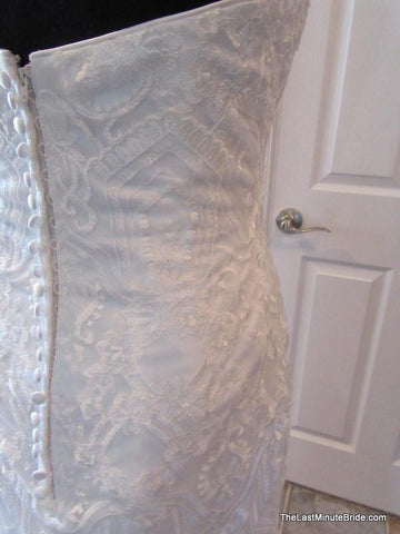 45.5 Hips Wedding Dress