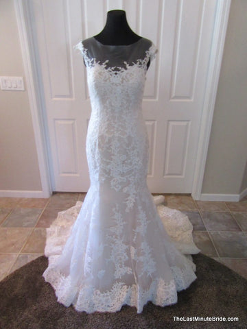 100% Authentic Maggie Sottero Noelle 5MB657 Wedding Dress
