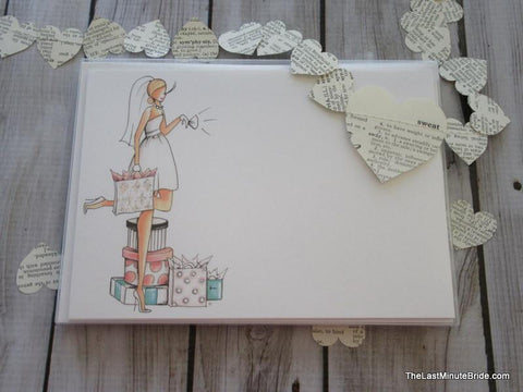 Bride to Be Notecard Boxed Set - Blonde Edition