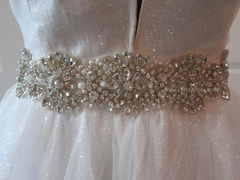 31.5 Waist Wedding Dress