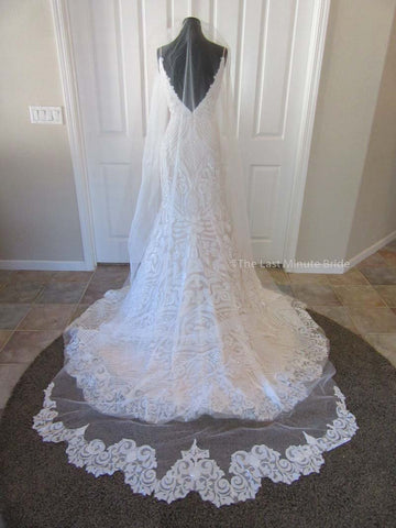 The Last Minute Bride Veil Style: Samantha
