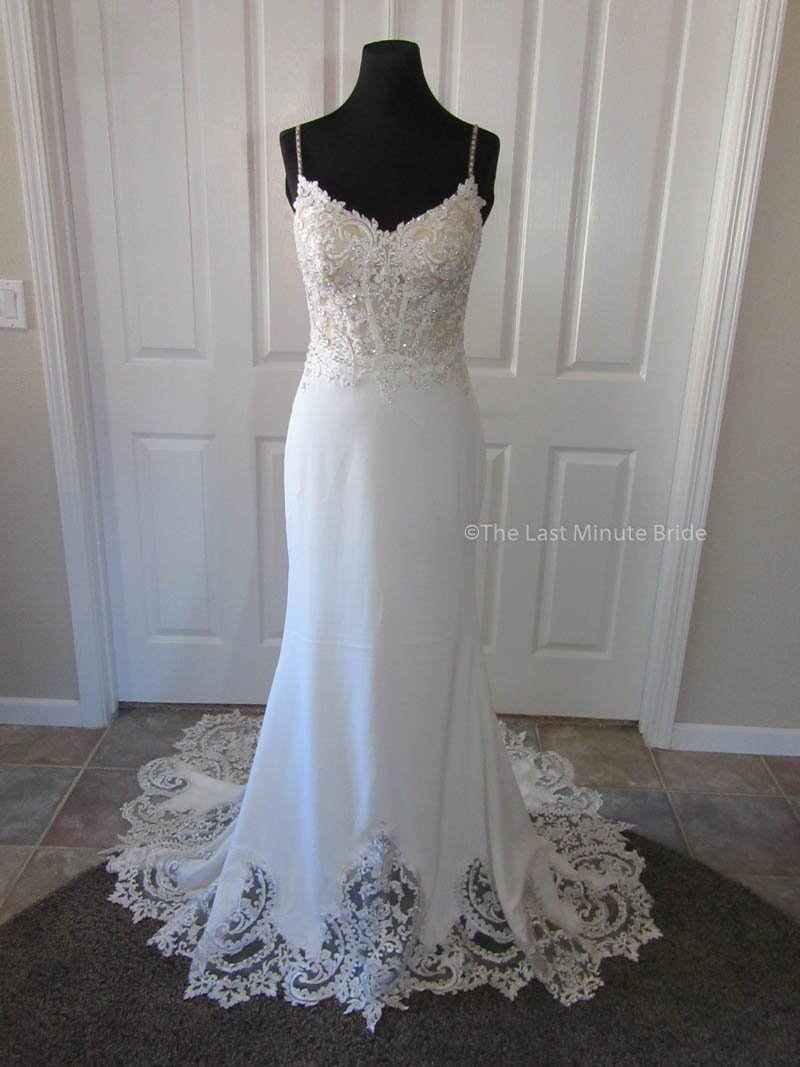 4052d306481 ... Size 3 - 34)  Made to Order 100% Authentic May wedding dress from The  Last Minute Bride Wedding Dress ...