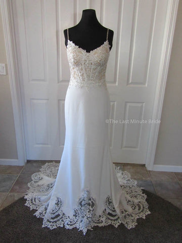 100% Authentic May wedding dress from The Last Minute Bride Wedding Dress