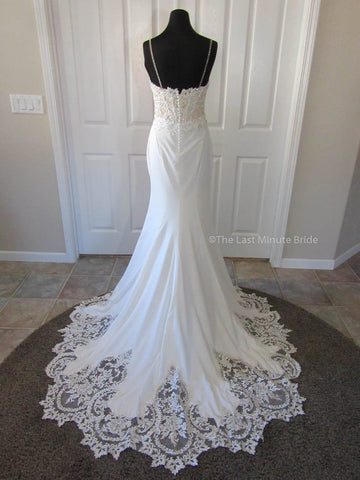 Lace Back Style Wedding Dress