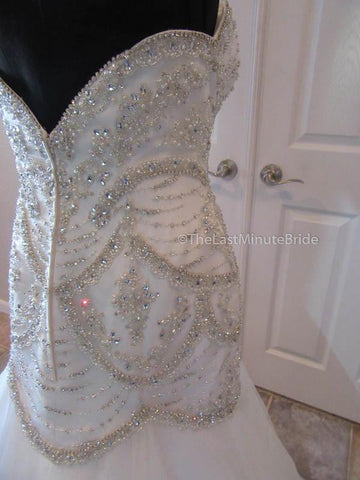 Low Back Style Wedding Dress