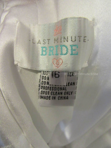 The Last Minute Bride Style: Morgan