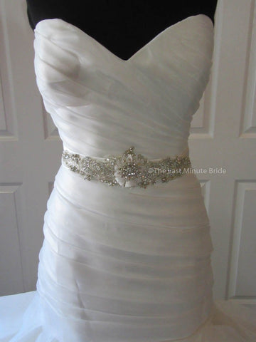 The Last Minute Bride Morgan wedding dress