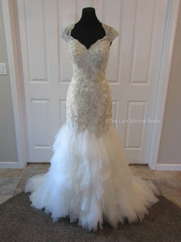 100% Authentic Mori Lee 1341 Wedding Dress
