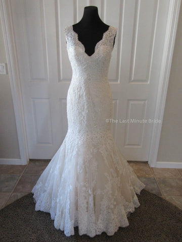 100% Authentic Mori Lee 2605 Wedding Dress