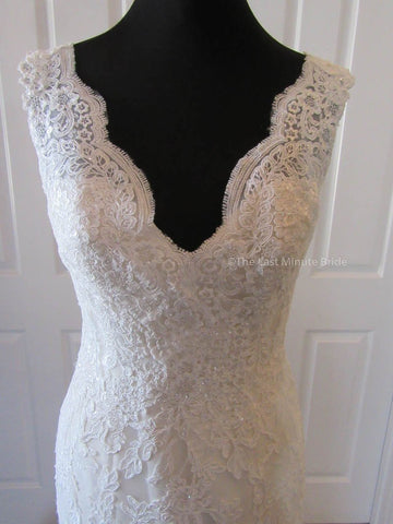 25.5 Waist Wedding Dress