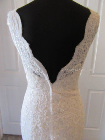 Straps sleeve Style Wedding Dress
