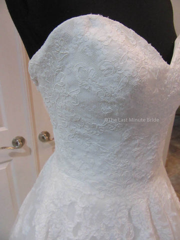38.0 Bust Wedding Dress