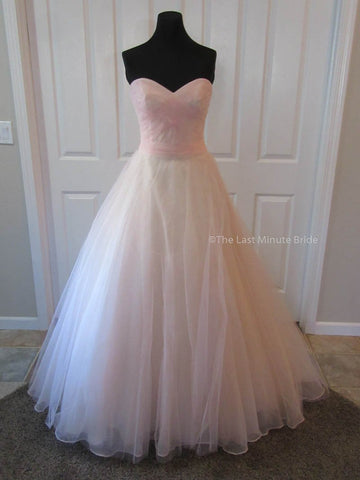 100% Authentic Mori Lee 6775 Blush Wedding Dress