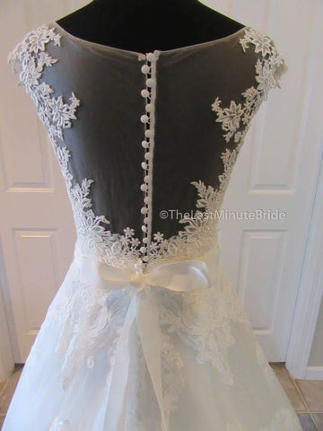 Natural Waist Wedding Dress
