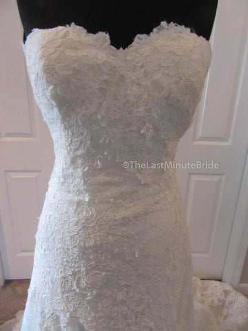 Sweetheart (Strapless) Neckline Wedding Dress
