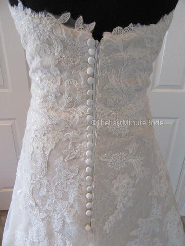 44.0 Hips Wedding Dress