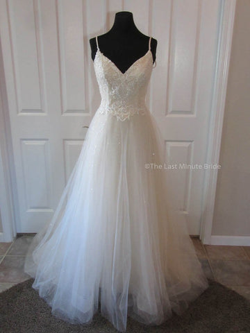 100% Authentic Renee from The Last Minute Bride Wedding Dress
