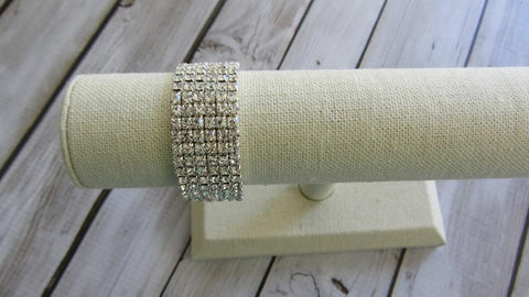 6 Rows of Bling Bracelet
