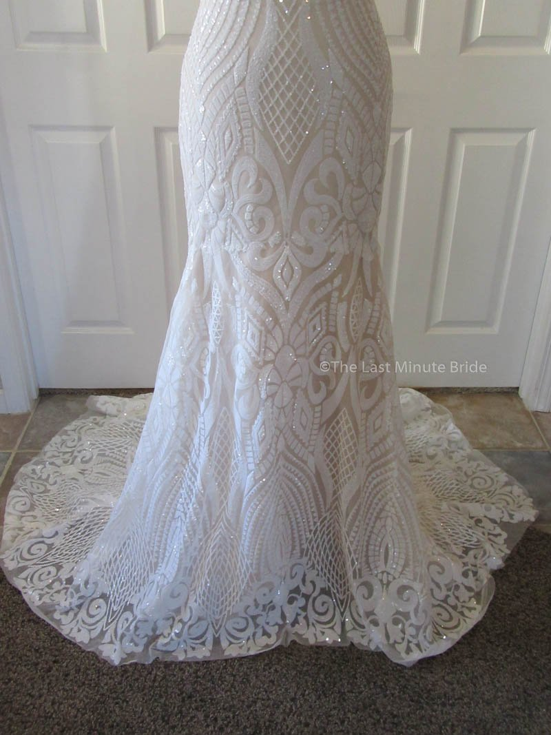 The Last Minute Bride Style: Samantha Ivory/Nude Size 4