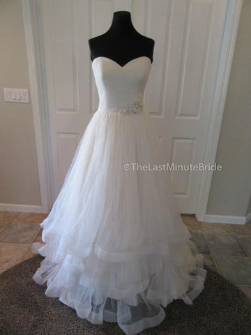 A-line Silhouette Wedding Dress