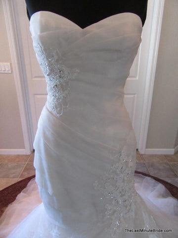 Fit -To- Flare Bridal Gown