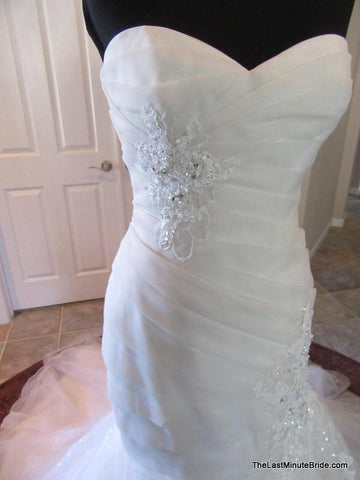 Sweetheart (Strapless) Bridal Gown