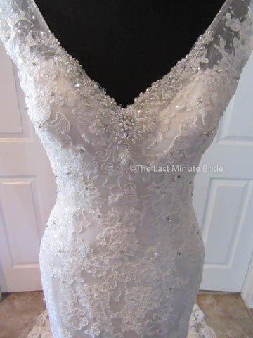 38.5 Hips Wedding Dress