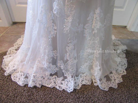 Color Ivory Wedding Dress