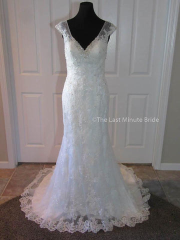 100% Authentic Sophia Tolli Leigh Y21432 wedding dress from The Last Minute Bride.