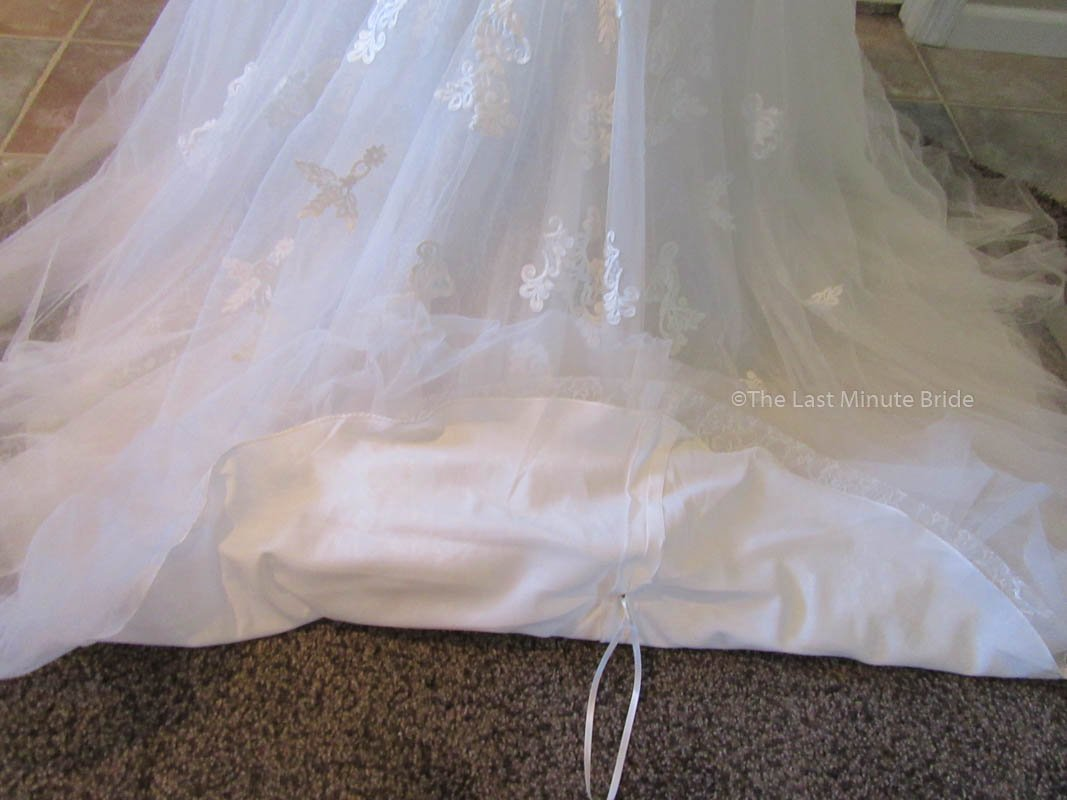 Stella York 6257 Size 10 - The Last Minute Bride