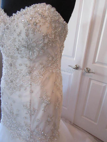 32.0 Waist Wedding Dress