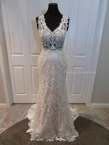 100% Authentic Emilia by Last Minute Bride Wedding Dress