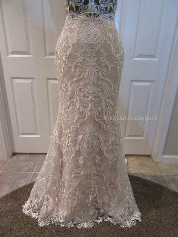 8  Label Size Wedding Dress