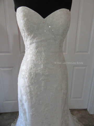 Emily by The Last Minute Bride Style Wedding Dress