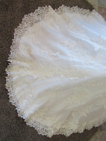 Ivory Color Wedding Dress