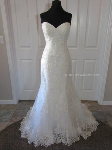 100% Authentic Emily by The Last Minute Bride Wedding Dress