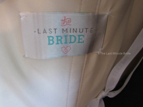The Last Minute Bride Style Emma Size 10
