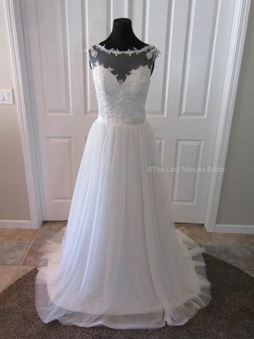 100% Authentic Emma by The Last Minute Bride Wedding Dress