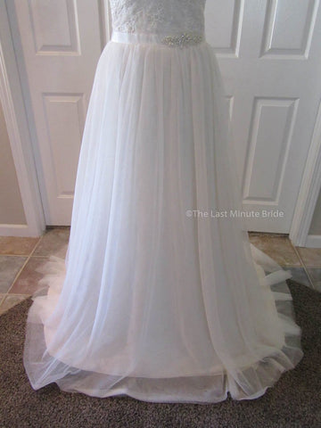Color Champagne Wedding Dress